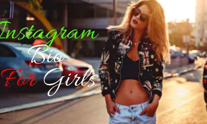 Best Collection of Instagram Bio ideas for girls