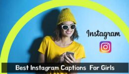BEST Instagram Captions For Girls 2020 with Amazing Insta Captions ideas for girls