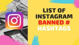 Banned Instagram Hashtag- And Everything you should know about them